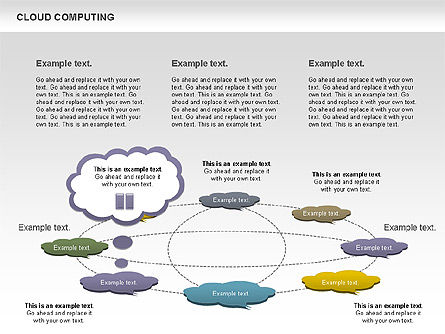 Cloud Computing Diagram Slide 12