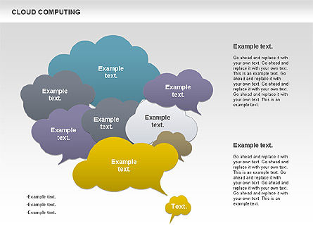 Cloud Computing Diagram, Slide 3, 00930, Business Models — PoweredTemplate.com