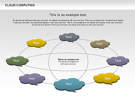 Cloud Computing Diagram Slide 6