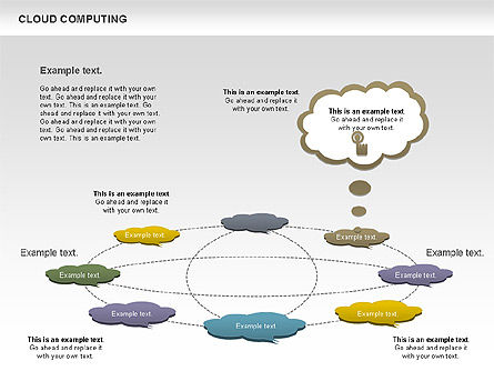 Cloud Computing Diagram Slide 8