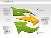 Shapes: Arrows Process Shapes #00931