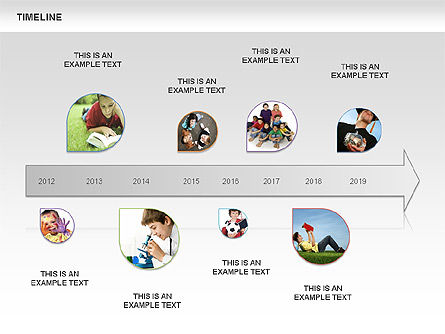 Timeline, Slide 3, 00933, Timelines & Calendars — PoweredTemplate.com