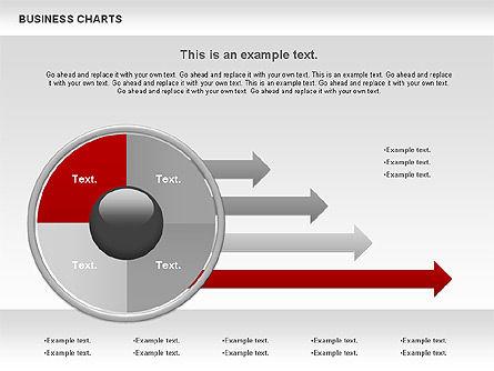 Business Presentation Charts, Slide 10, 00935, Business Models — PoweredTemplate.com