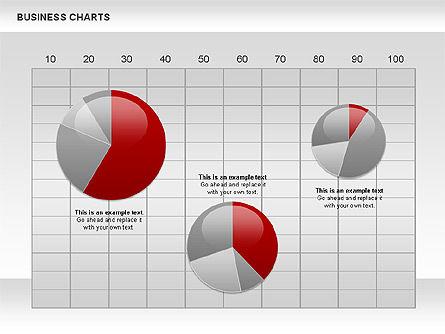 Business Presentation Charts, Slide 11, 00935, Business Models — PoweredTemplate.com