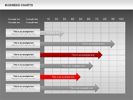 Business Presentation Charts, Slide 12, 00935, Business Models — PoweredTemplate.com