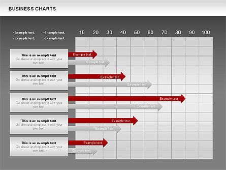 Business Presentation Charts, Slide 13, 00935, Business Models — PoweredTemplate.com