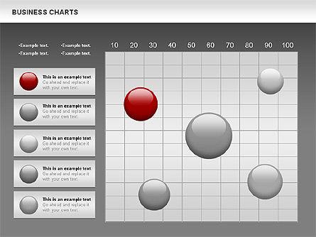 Business Presentation Charts, Slide 14, 00935, Business Models — PoweredTemplate.com