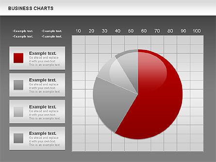 Business Presentation Charts, Slide 15, 00935, Business Models — PoweredTemplate.com