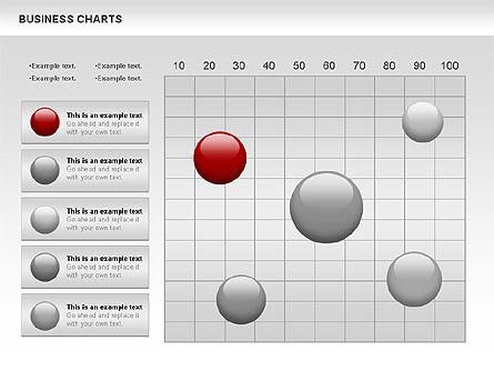 Business Presentation Charts, Slide 3, 00935, Business Models — PoweredTemplate.com