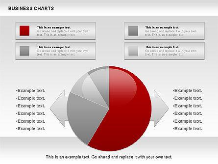 Business Presentation Charts, Slide 5, 00935, Business Models — PoweredTemplate.com