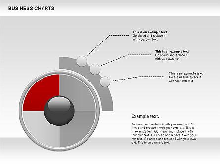 Business Presentation Charts, Slide 6, 00935, Business Models — PoweredTemplate.com