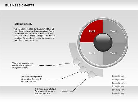 Business Presentation Charts, Slide 8, 00935, Business Models — PoweredTemplate.com