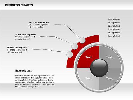 Business Presentation Charts, Slide 9, 00935, Business Models — PoweredTemplate.com