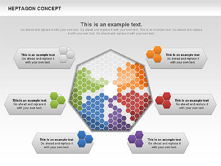 Heptagon Concept, 00936, Business Models — PoweredTemplate.com