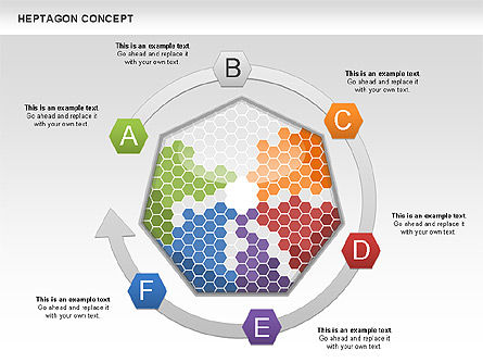 Heptagon Concept, Slide 3, 00936, Business Models — PoweredTemplate.com