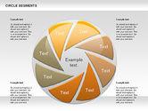 Shapes: Círculo de segmentos de formas #00937