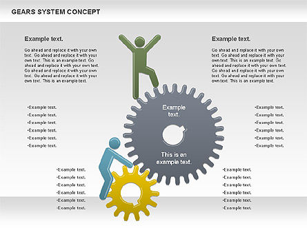 Stage Diagrams: Gears System Concept Diagram #00940