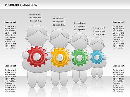 Business Models: Prozess-Teamarbeit #00945