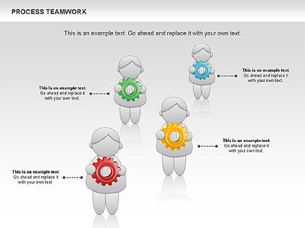 Process Teamwork, Slide 10, 00945, Business Models — PoweredTemplate.com