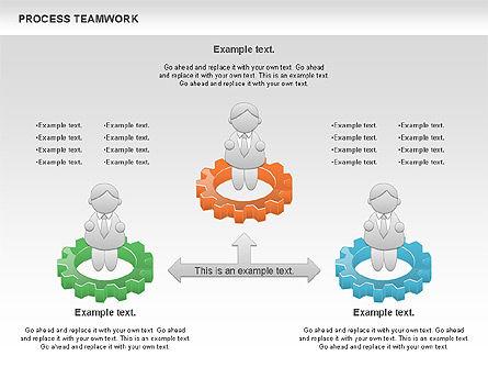 Process Teamwork, Slide 11, 00945, Business Models — PoweredTemplate.com