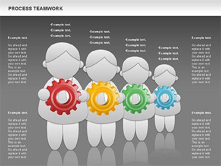 Process Teamwork, Slide 12, 00945, Business Models — PoweredTemplate.com