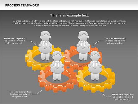 Process Teamwork, Slide 13, 00945, Business Models — PoweredTemplate.com