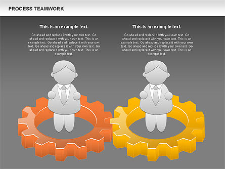 Process Teamwork, Slide 14, 00945, Business Models — PoweredTemplate.com