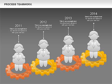 Process Teamwork, Slide 15, 00945, Business Models — PoweredTemplate.com