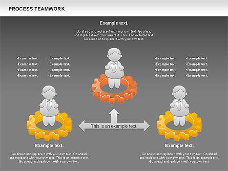 Process Teamwork, Slide 16, 00945, Business Models — PoweredTemplate.com