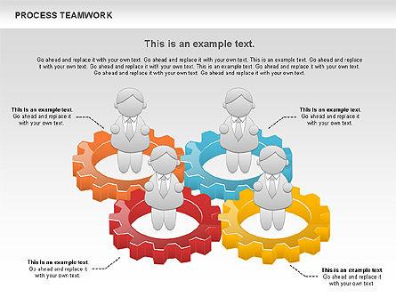 Process Teamwork, Slide 2, 00945, Business Models — PoweredTemplate.com
