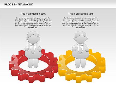 Process Teamwork, Slide 3, 00945, Business Models — PoweredTemplate.com