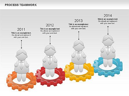 Process Teamwork, Slide 4, 00945, Business Models — PoweredTemplate.com