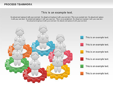 Process Teamwork, Slide 5, 00945, Business Models — PoweredTemplate.com