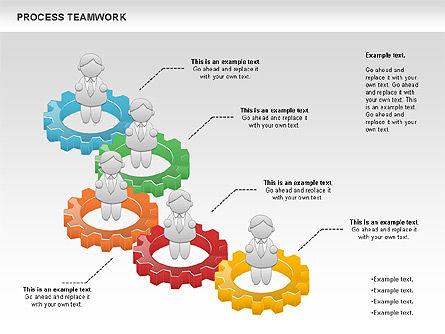 Process Teamwork, Slide 6, 00945, Business Models — PoweredTemplate.com
