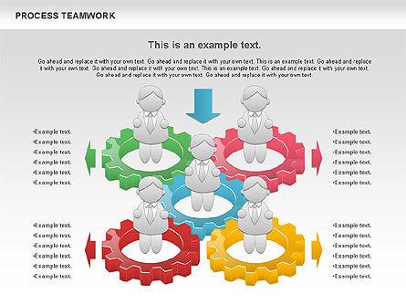 Process Teamwork, Slide 7, 00945, Business Models — PoweredTemplate.com