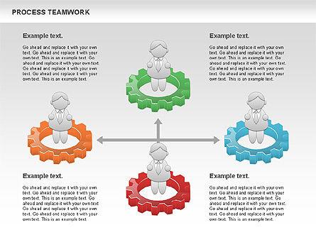Process Teamwork, Slide 8, 00945, Business Models — PoweredTemplate.com