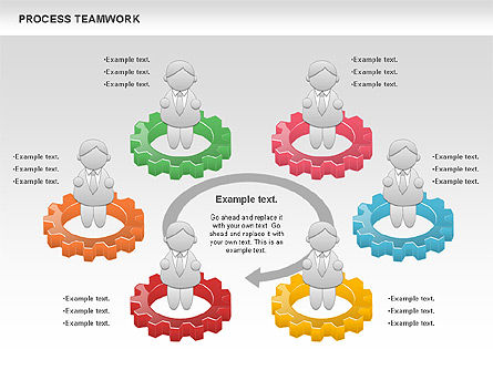 Process Teamwork, Slide 9, 00945, Business Models — PoweredTemplate.com