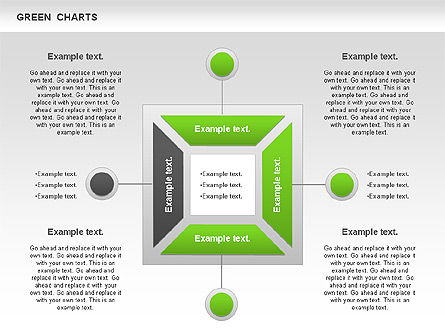 Shapes: Process Green Chart #00946