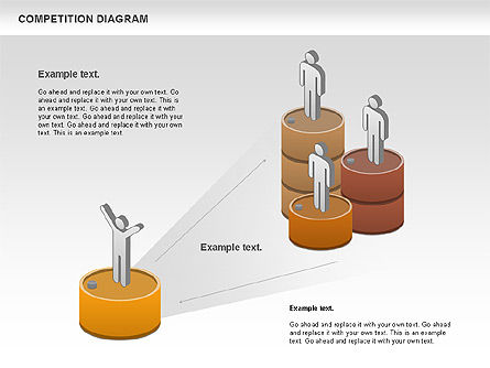 Competition Diagram , Slide 8, 00948, Business Models — PoweredTemplate.com