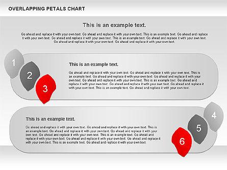 Overlapping Petals Diagram, Slide 3, 00950, Stage Diagrams — PoweredTemplate.com