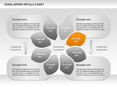 Overlapping Petals Diagram, Slide 4, 00950, Stage Diagrams — PoweredTemplate.com