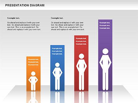 Presentation Process Diagram, Slide 2, 00953, Business Models — PoweredTemplate.com