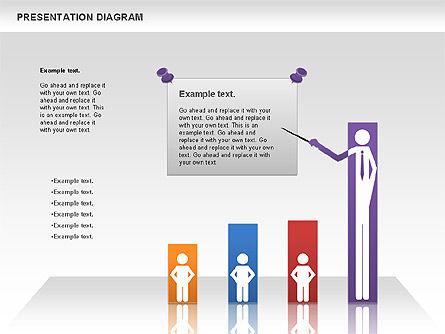 Presentation Process Diagram, Slide 3, 00953, Business Models — PoweredTemplate.com