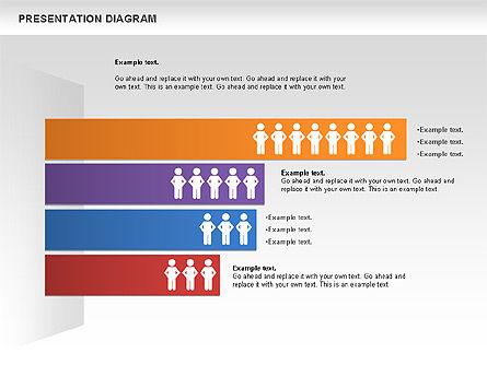 Presentation Process Diagram, Slide 4, 00953, Business Models — PoweredTemplate.com