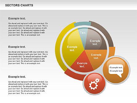 Pie Charts: 분야 도표 #00955