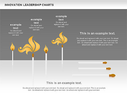 Matches Concept Innovation Diagram, Slide 2, 00957, Stage Diagrams — PoweredTemplate.com