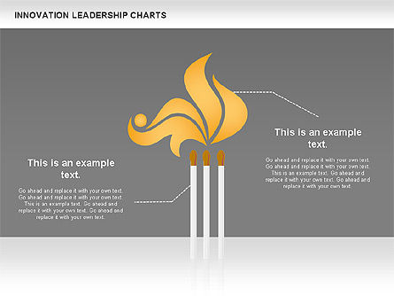 Matches Concept Innovation Diagram, Slide 4, 00957, Stage Diagrams — PoweredTemplate.com