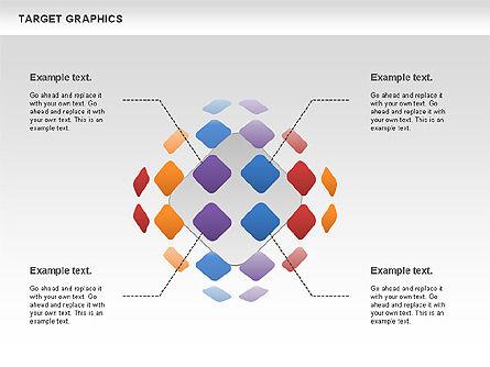 Target Graphics Concept, Slide 10, 00958, Shapes — PoweredTemplate.com