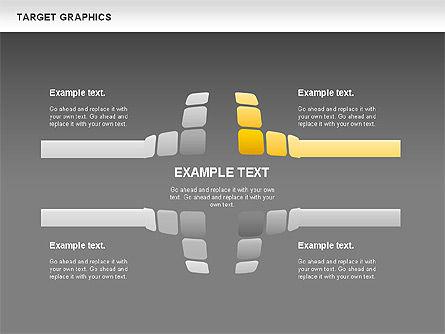 Target Graphics Concept, Slide 12, 00958, Shapes — PoweredTemplate.com