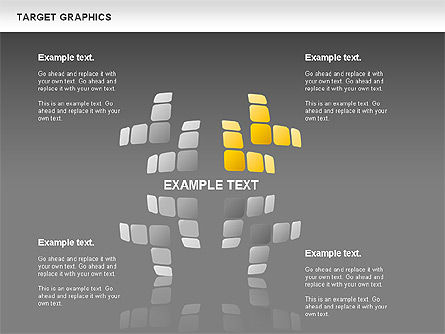 Target Graphics Concept, Slide 13, 00958, Shapes — PoweredTemplate.com
